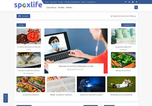 لقطة شاشة لموقع spoxlife بتاريخ 09/06/2021 بواسطة دليل مواقع خطوات