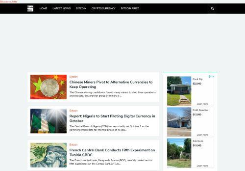 لقطة شاشة لموقع Bitcoin, Blockchain, Mining and Crypto News بتاريخ 24/07/2021 بواسطة دليل مواقع خطوات