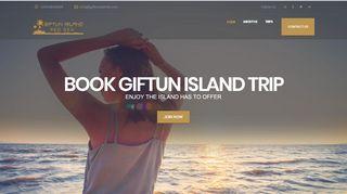 لقطة شاشة لموقع جزيرة الجفتون Giftun Island بتاريخ 31/12/2019 بواسطة دليل مواقع خطوات