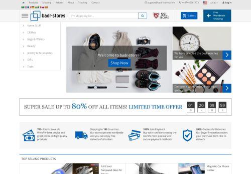 لقطة شاشة لموقع badr-stores بتاريخ 04/10/2020 بواسطة دليل مواقع خطوات